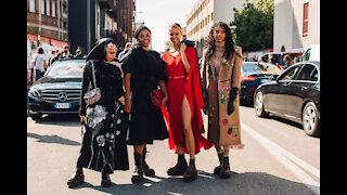 Milan Fashion Week Spring Summer 2021 Streetstyle MFW