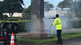 West Palm Beach Confederate monument to be removed - Video