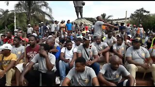 SOUTH AFRICA - Durban - Human rights day march (Video) (qPJ)