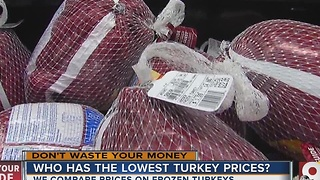 Who has the lowest turkey prices? - Video