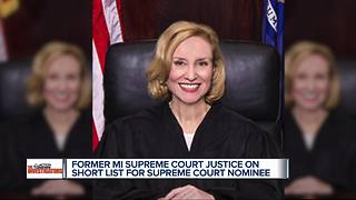 Who is Joan Larsen? The former Michigan Supreme Court Justice on Trump's short list for Supreme Court nominee - Video