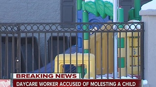 Day care worker accused of molesting a child - Video