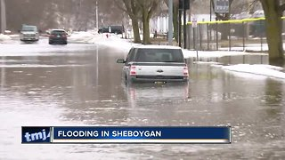 City crews trying to keep up with flooding in Sheboygan