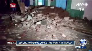 Massive Mexico earthquake kills more than 100, topples buildings - Video