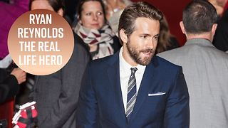 Ryan Reynolds facetimes terminally ill 5-year-old - Video