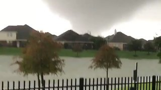 Possible Tornado Blows Through Cypress, Damaging Homes - Video