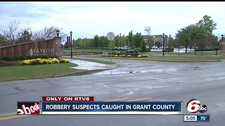 Grant County schools closed while police searched for armed robbery suspects - Video
