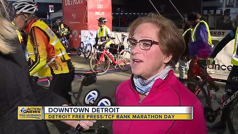 Overcoming obstacles at the Detroit Marathon