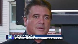 Mount Clemens candidate for judge charged in federal drug trafficking case - Video