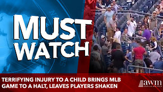 Terrifying injury to a child brings MLB game to a halt, leaves players shaken - Video