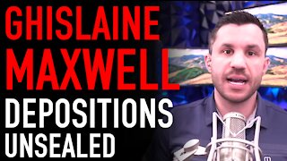 Ghislaine Maxwell Depositions Unsealed