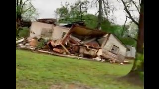Homes Destroyed After Suspected Tornado Sweeps Through Alto