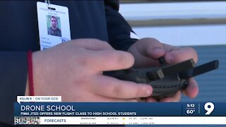 """High school students """"take off"""" in new drone operation class"""