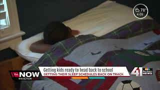 Getting kids ready to head back to school - Video