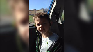 Kid gets Caught Singing!