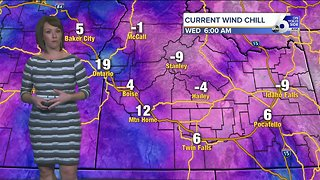 Teeth-chattering cold continues across SW Idaho this week