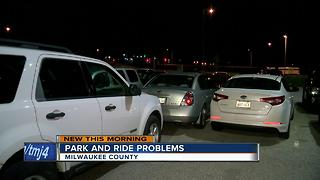 Woman complains after being stuck at Summerfest Park & Ride - Video