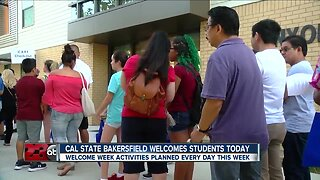 CSUB welcomes students back with a 'Week of Welcome'