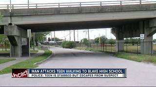 15-year-old Blake High School student attacked and stabbed on the way to school - Video