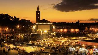 Marrakesh's Vibrant Sensory Landscape - Video