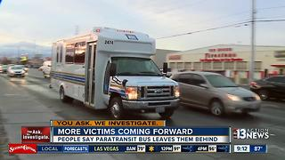 More people have stories of issues with RTC Paratransit - Video