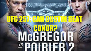 UFC 257: Conor McGregor vs Dustin Poirier 2. Who'll win