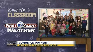 Kevin's Classroom: Kevin visits Commerce Elementary