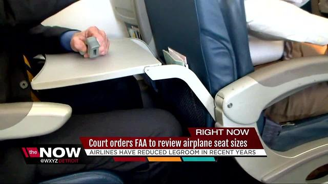 Court orders FAA to review airplane seat sizes - Rumble