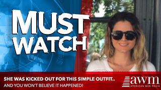 Woman Abruptly Kicked Out Of Restaurant All Because Of The Outfit She Wore. Is This Fair? - Video