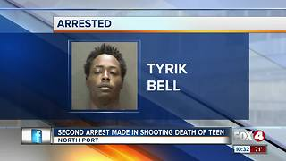 Second Arrest Made in Shooting Death of Teen