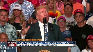 ABC News: Mueller will use grand jury - Video
