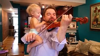 How Musicians Babysit Their Kids - Video