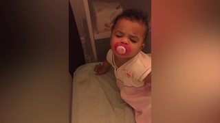 Baby Girl Doesn't Want To Wake Up For School