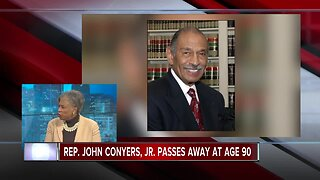 Rep. Brenda Lawrence reflects on passing of former Rep. John Conyers