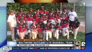 Baltimore Rattlers U-15 Baseball Team hit a home run with a GMM shout out - Video