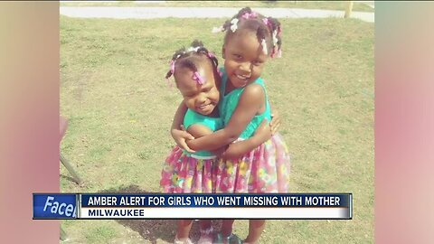 AMBER Alert issued for two Milwaukee girls, missing with mom