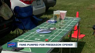 Bills Fans Ready for Preseason Opener - Video