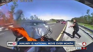 Trooper video shows importance of Move Over law