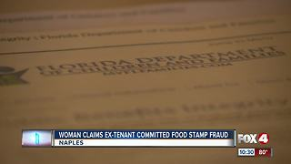 Woman claims tenant stolen over $70,000 in food stamp and Medicaid benefits - Video
