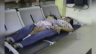 """""""Sleeping At The Train Station"""""""