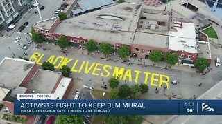Black Lives Matter Mural: To Be Removed