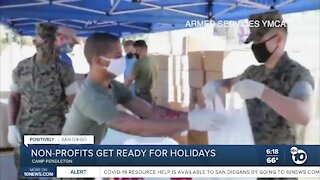Non-profits get ready for holidays
