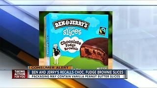 Ben & Jerry's recalls 'pint slices' ice cream nationawide - Video