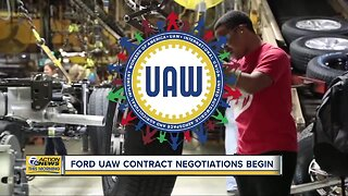 Ford, UAW contract negotiations begin