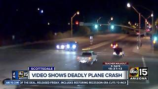 Video shows deadly plane crash in Scottsdale