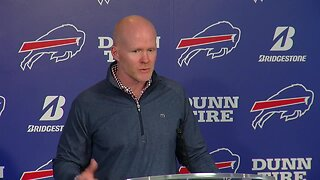 Buffalo Bills head coach Sean McDermott speaks to media Tuesday
