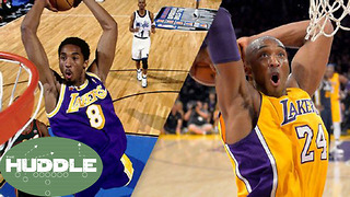 Lakers RETIRING Kobe Bryant's Jersey...But Which One? -The Huddle - Video