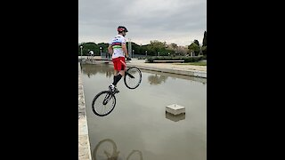 You won't believe what this extreme sports athlete can do!