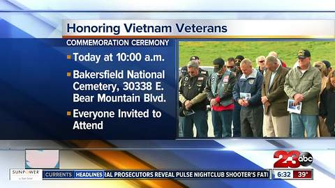 Bakersfield National Cemetery honors Vietnam veterans