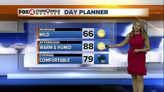 FORECAST: Showers & Storms Expected Sunday - Video